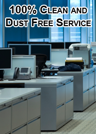 100% clean and dust free service